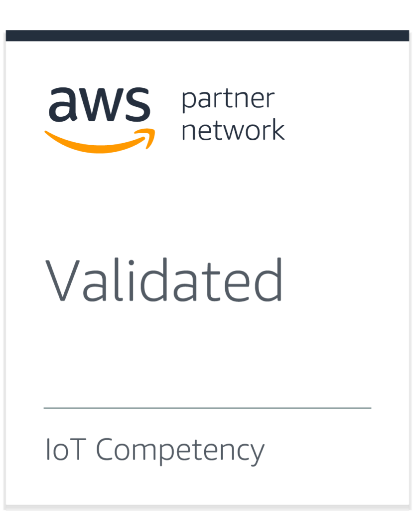 Haltian is AWS partner network Validated IoT competency
