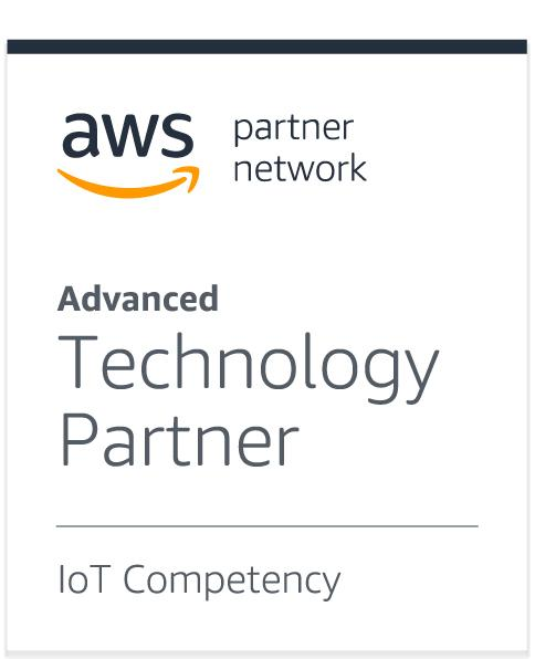 AWS Partner Network, advanced technology partner in IoT Competency