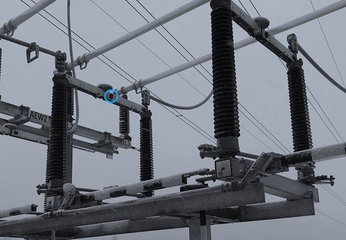 IoT solutions for power grid asset condition monitoring outside