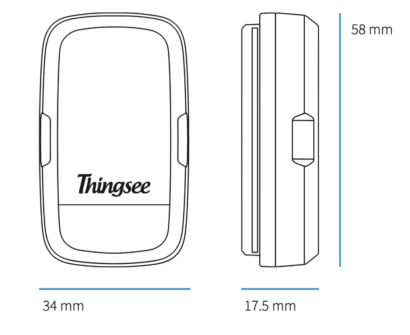 Thingsee ENVIRONMENT RUGGED wireless IoT device details