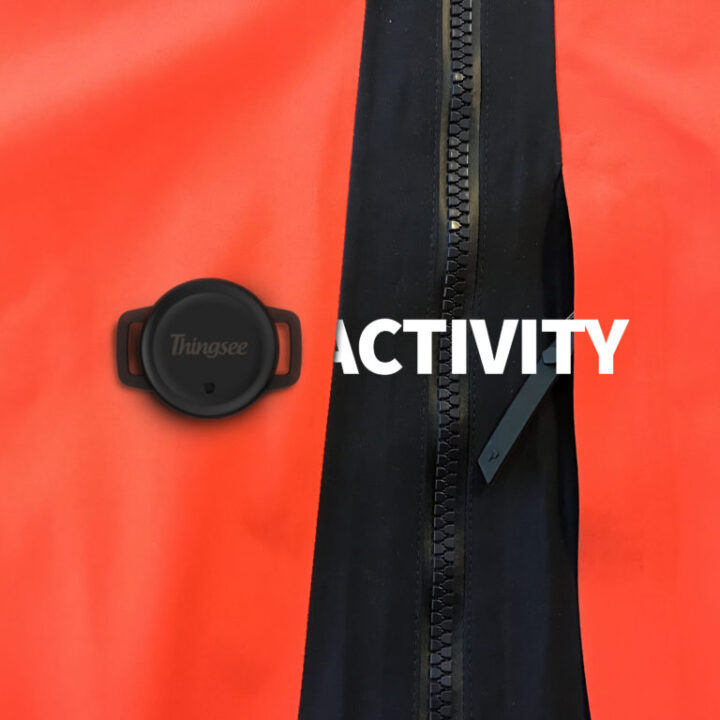 Thingsee activity garment usage monitoring IoT device