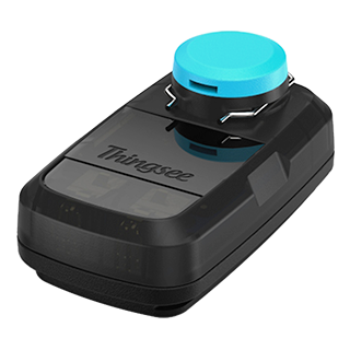 Thingsee ANGLE is a wireless remote monitoring device for manual hand valves
