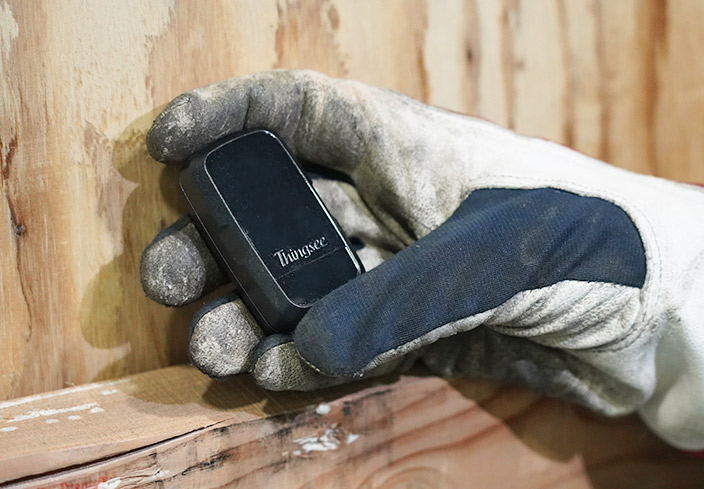 Thingsee ENVIRONMENT RUGGED is a wireless IoT device for environmental condition monitoring