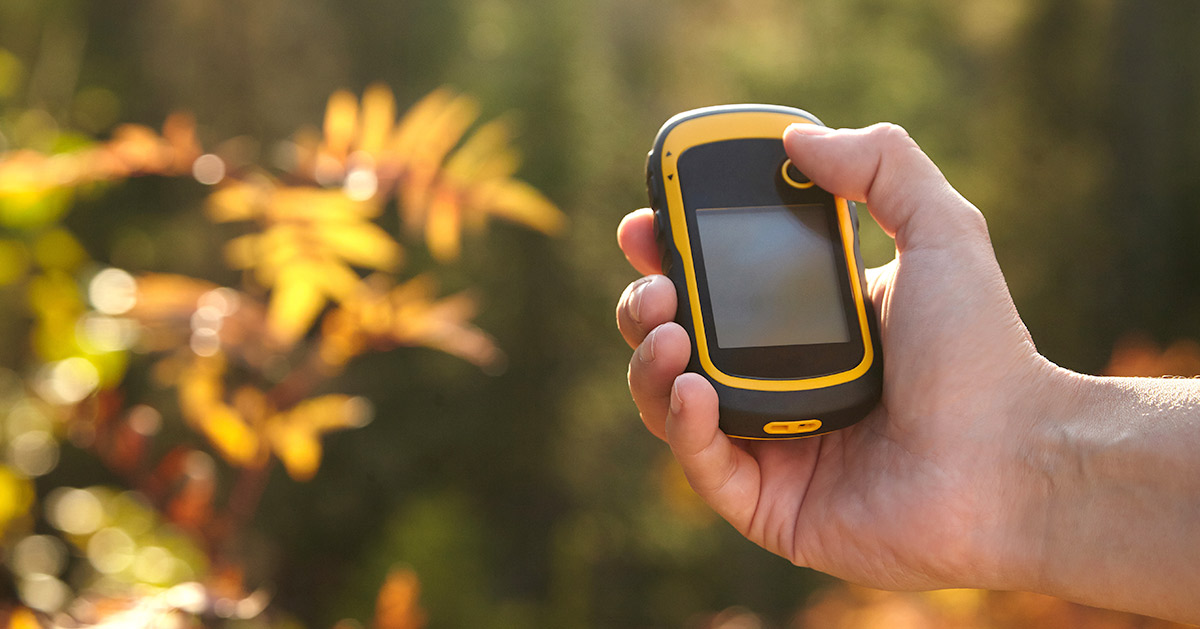 Developing GPD devices, GPS device used outdoors