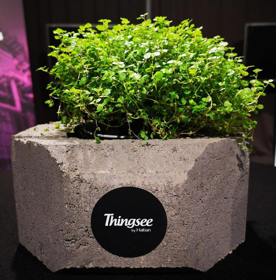 Thingsee decoration in IoT summit 2019