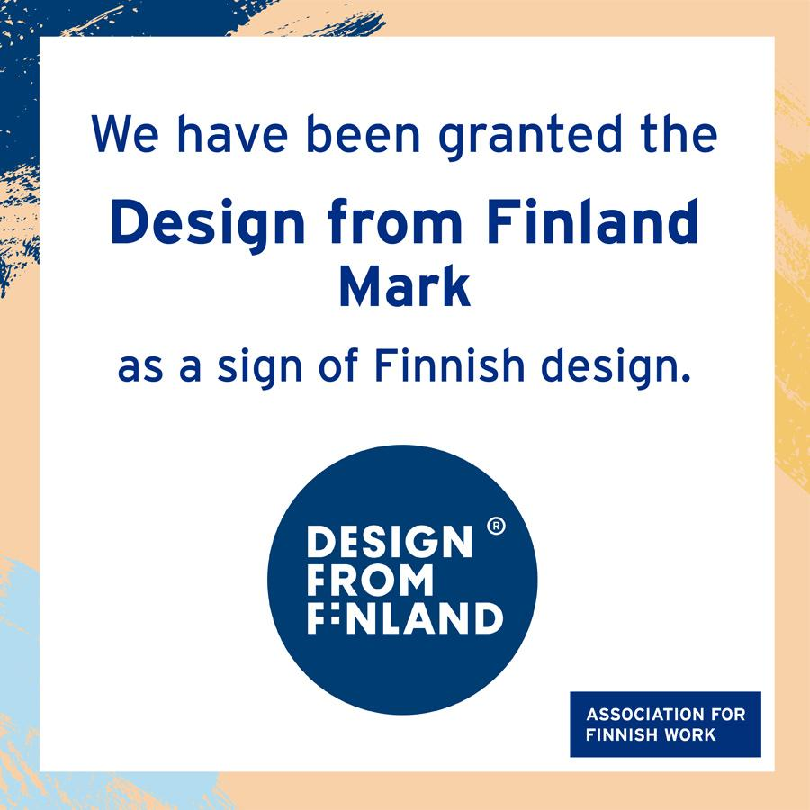 Haltian granted Design from Finland mark banner