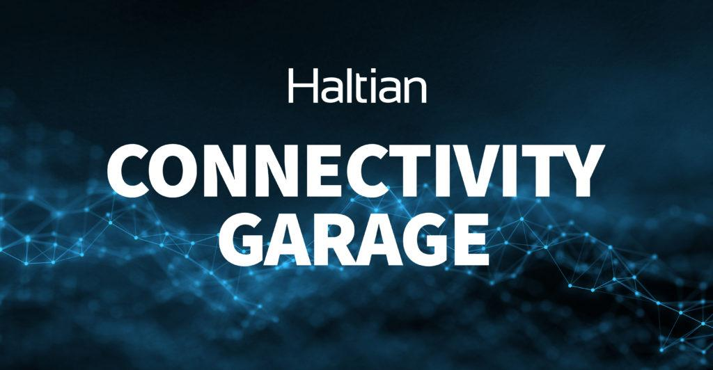 Haltian connectivity garage banner