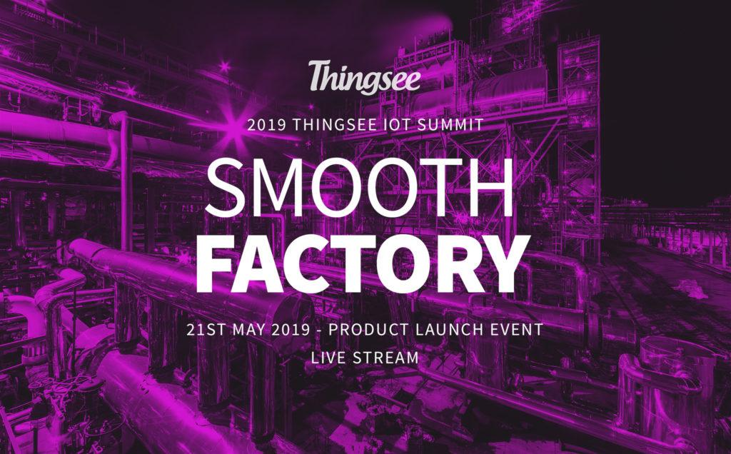 Thingsee smooth factory berry banner