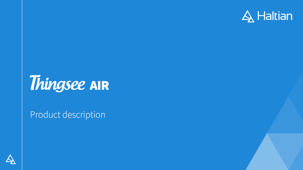 download Thingsee AIR product description