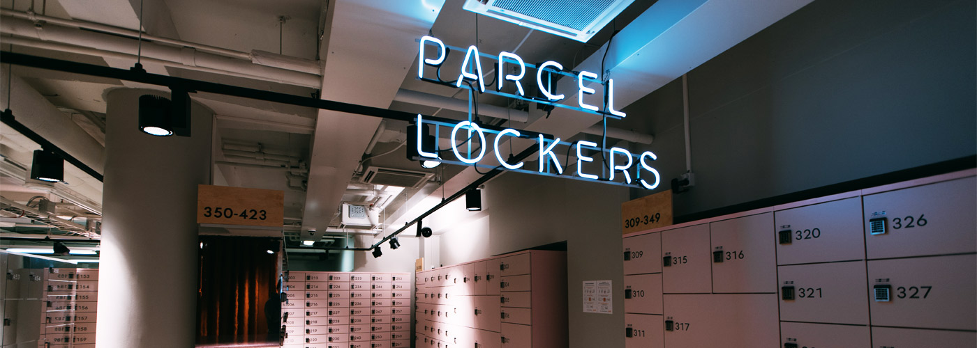 wireless IoT solution for postal service self-service lockers