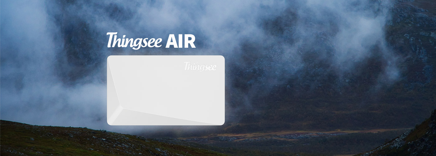how to install Thingsee AIR wireless air quality monitoring device