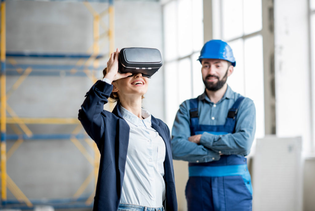 Virtual reality in the workplace, VR used in job training