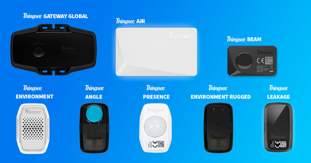 Thingsee IoT starter packages devices
