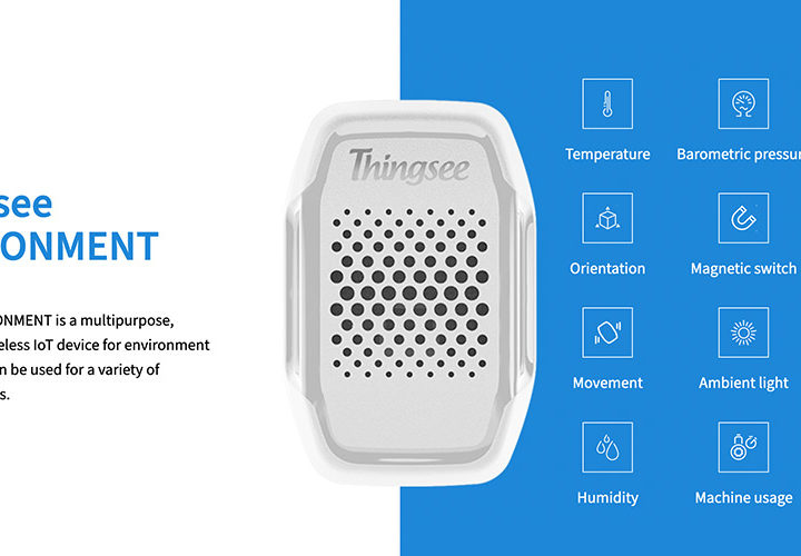 How to install Thingsee ENVIRONMENT IoT device