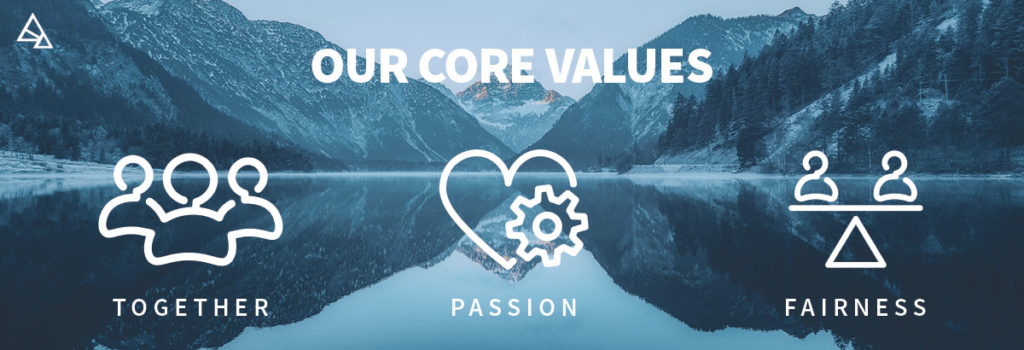 Haltian values: together, passion and fairness